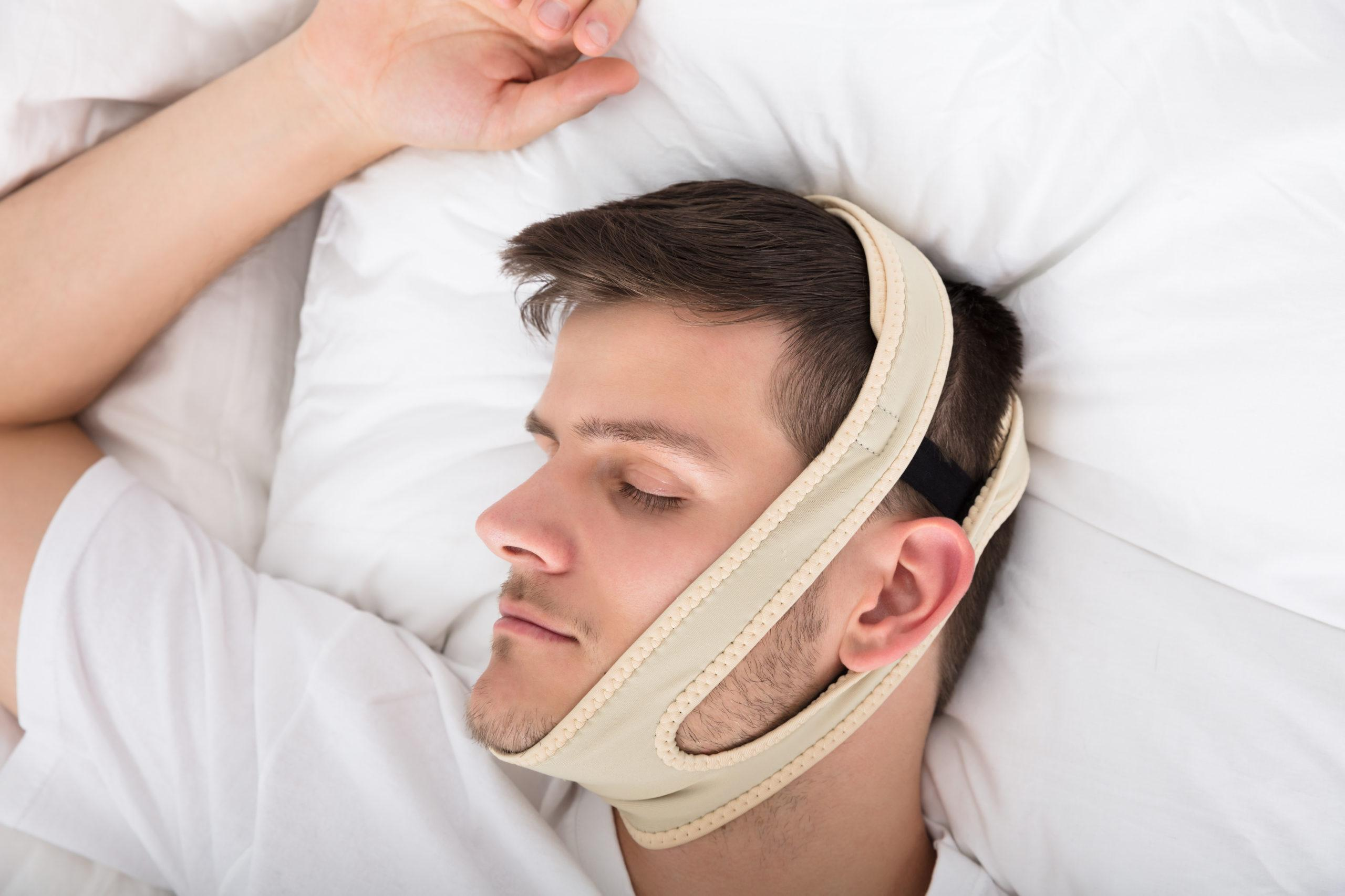 Chin Strap Is An Example Of Anti-Snoring Device