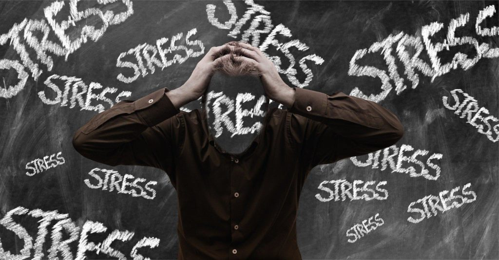 You are surrounded by different types of stress