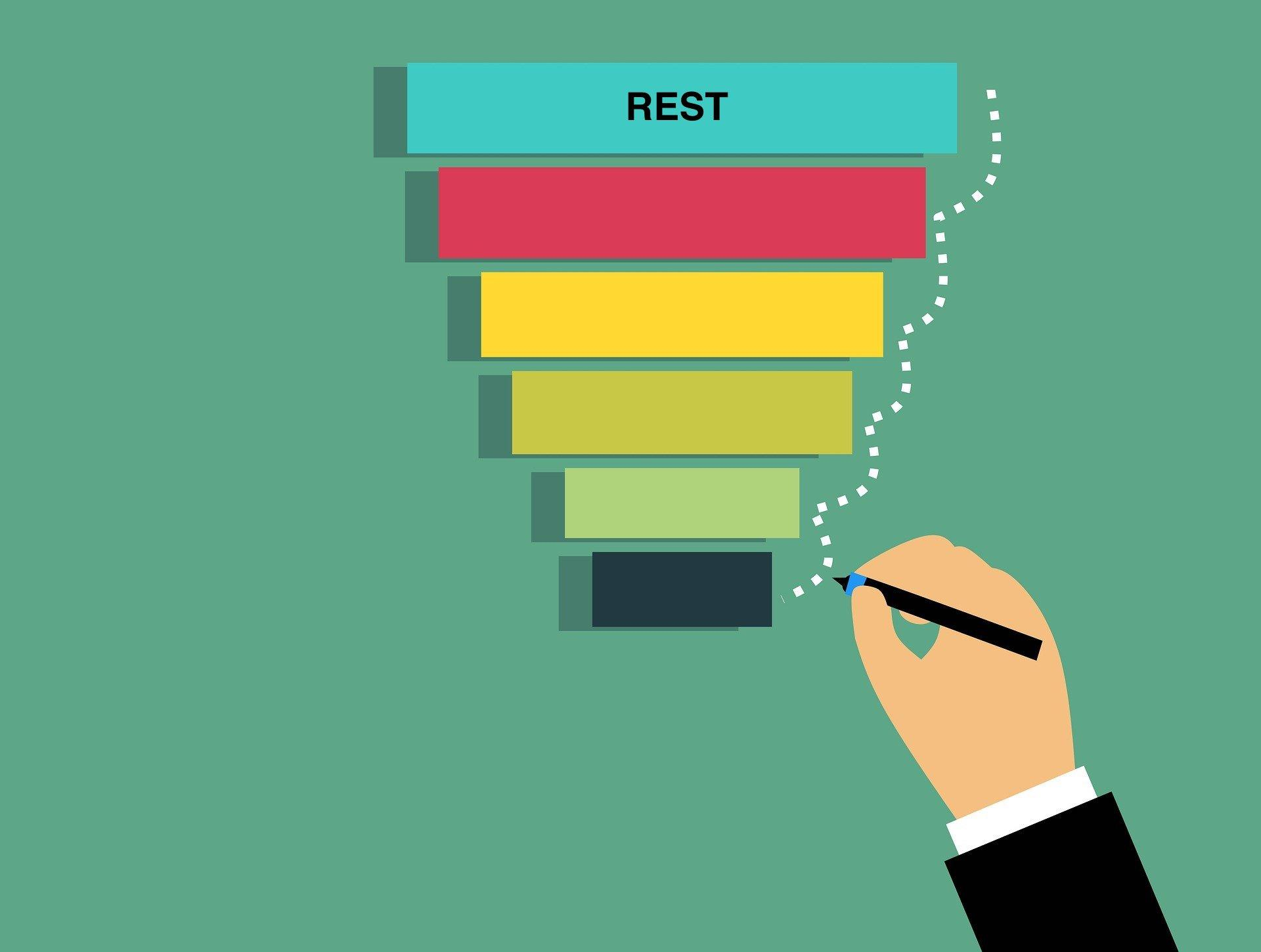 Rest days: Good rest is the foundation for well-being